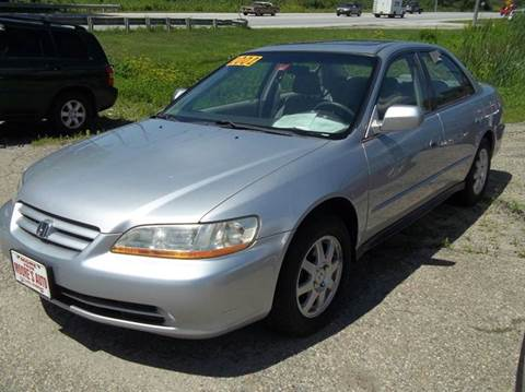 2002 Honda Accord for sale in Rutland, VT
