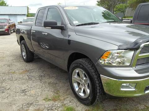 2011 RAM Ram Pickup 1500 for sale in Rutland, VT