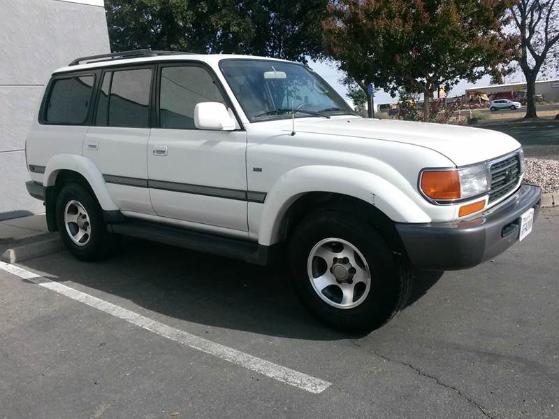 1997 toyota land cruiser collectors edition 4dr 4wd suv in yuba city ca qa auto sales. Black Bedroom Furniture Sets. Home Design Ideas