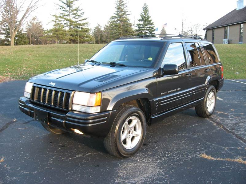1998 jeep grand cherokee 4dr 5 9 limited 4wd suv in union grove wi the car truck store. Black Bedroom Furniture Sets. Home Design Ideas