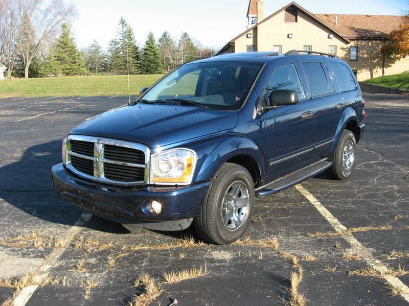 2005 dodge durango limited 4wd 4dr suv w front rear and. Black Bedroom Furniture Sets. Home Design Ideas