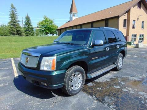 2002 Cadillac Escalade for sale in Union Grove, WI