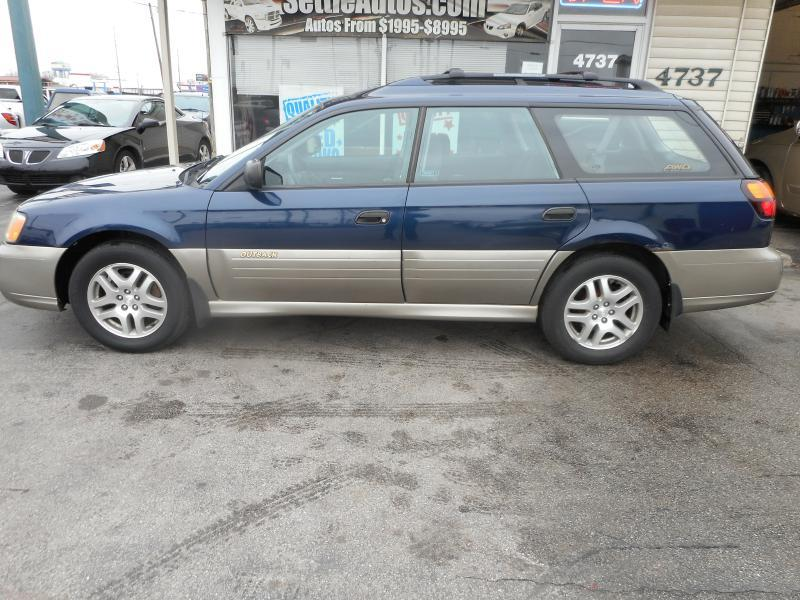 2003 subaru outback awd 4dr wagon w premium audio system. Black Bedroom Furniture Sets. Home Design Ideas
