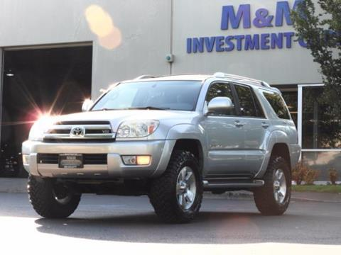 2004 Toyota 4Runner for sale in Portland, OR