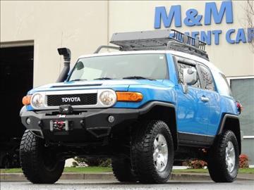 2007 Toyota FJ Cruiser for sale in Portland, OR