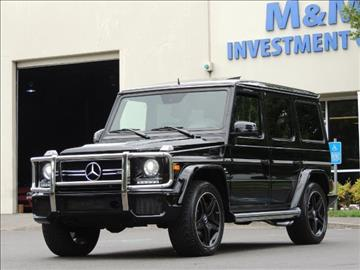 2015 Mercedes-Benz G-Class for sale in Portland, OR