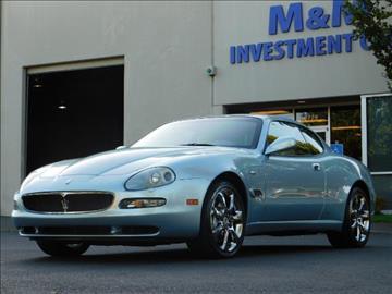 2004 Maserati Coupe for sale in Portland, OR