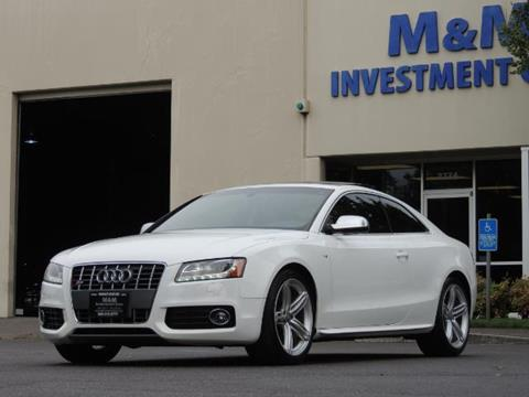 2011 Audi S5 for sale in Portland, OR