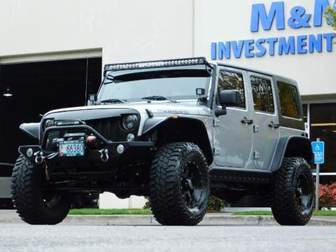 2015 Jeep Wrangler Unlimited for sale in Portland, OR