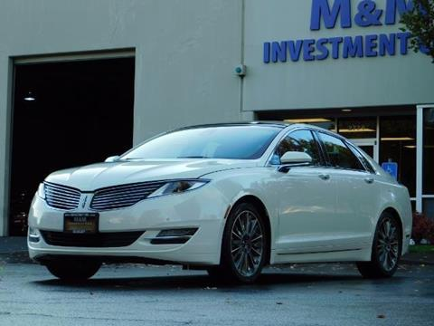 2013 Lincoln MKZ Hybrid for sale in Portland, OR