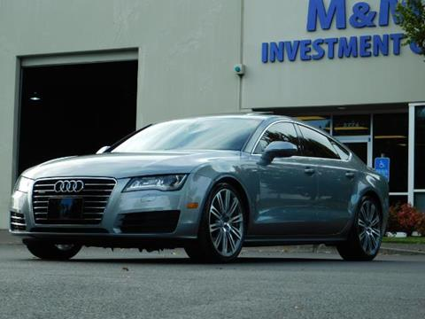 2014 Audi A7 for sale in Portland, OR