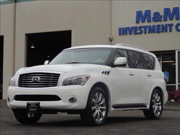 2013 Infiniti QX56 for sale in Portland, OR