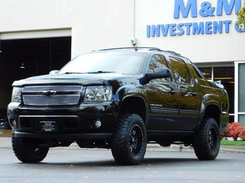 2013 Chevrolet Black Diamond Avalanche for sale in Portland, OR