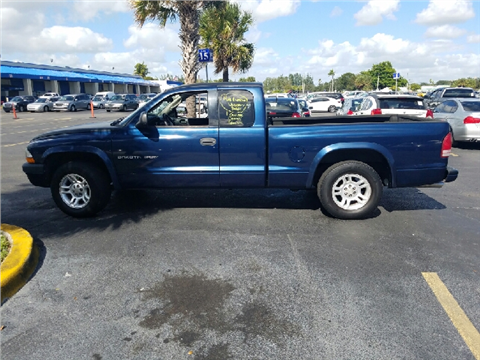 2002 Dodge Dakota for sale in Hollywood, FL