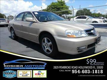 2003 Acura TL for sale in Hollywood, FL