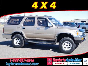 Road Runner Auto Sales Taylor >> 1995 Toyota 4Runner For Sale - Carsforsale.com