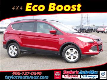 Ford Escape For Sale Montana