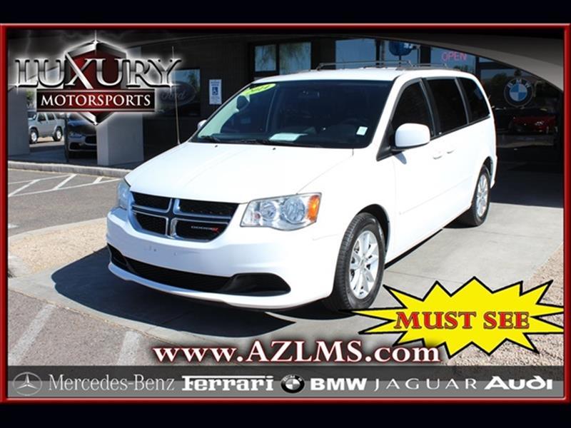 2014 Dodge Grand Caravan Sxt 4dr Mini Van In Phoenix Az Luxury