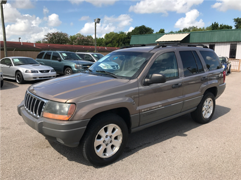 2001 Jeep Grand Cherokee for sale in Houston, TX