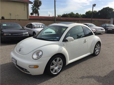 2003 Volkswagen New Beetle for sale in Houston, TX