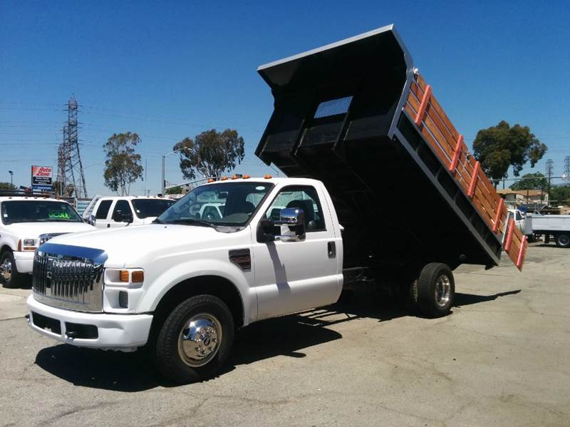 2009 ford f 350 super duty 12ft dump stake in rosemead ca. Black Bedroom Furniture Sets. Home Design Ideas