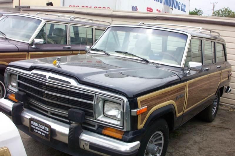 1991 jeep grand wagoneer base 4dr 4wd suv in rosemead ca vehicle center. Black Bedroom Furniture Sets. Home Design Ideas
