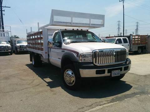 2006 Ford F-550 for sale in Rosemead, CA