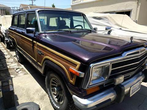 1990 Jeep Grand Wagoneer for sale in Rosemead, CA