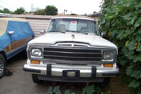 1991 Jeep Grand Wagoneer for sale in Rosemead, CA