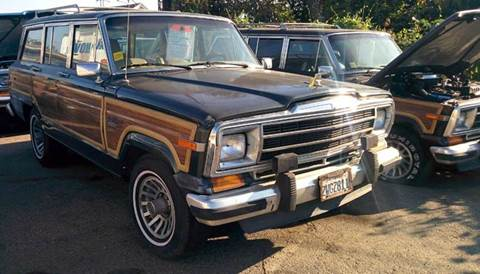 Jeep Grand Wagoneer For Sale >> 1991 Jeep Grand Wagoneer For Sale In Rosemead Ca