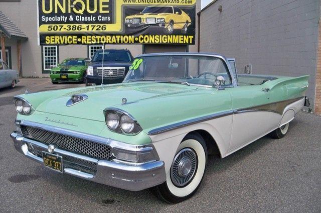 1958 Ford 2 door