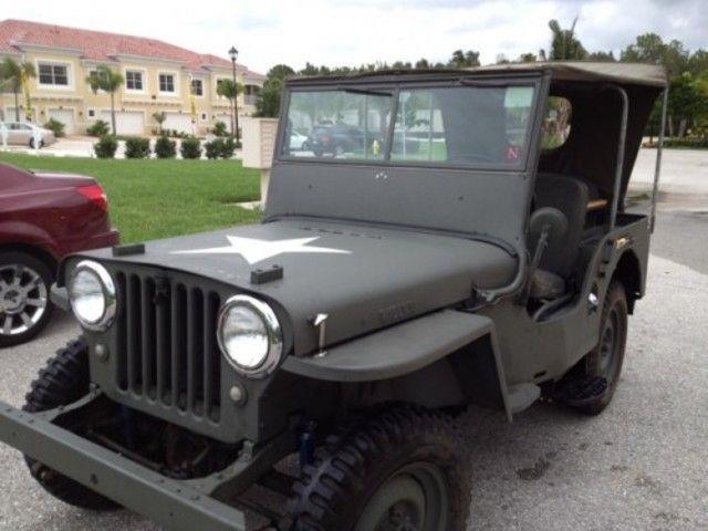 1948 Willys CJ-2A for sale in MANKATO MN