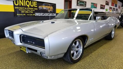 1969 Gto Craigslist >> 1969 Pontiac Gto For Sale Carsforsale Com