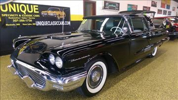 1958 Ford Thunderbird For Sale