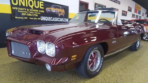 1971 Pontiac GTO For Sale  Carsforsalecom