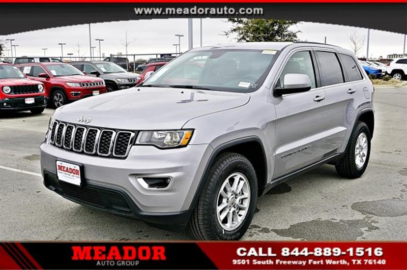 2018 Jeep Grand Cherokee for sale in Fort Worth, TX
