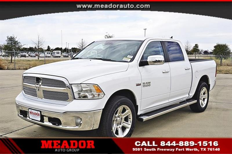 Meador Dodge Chrysler Jeep >> 2017 Ram Ram Pickup 1500 4x4 Lone Star Silver 4dr Crew Cab 5.5 ft. SB Pickup In Fort Worth TX ...