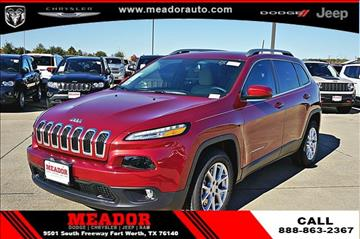 2017 Jeep Cherokee for sale in Fort Worth, TX