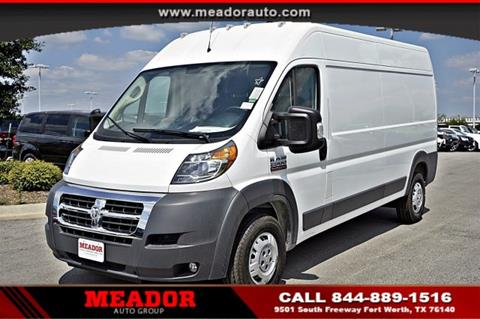 2018 RAM ProMaster Cargo For Sale In Fort Worth TX