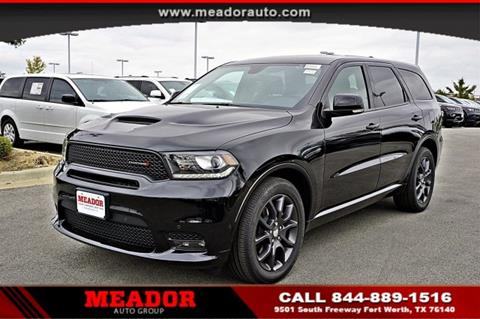 2018 Dodge Durango for sale in Fort Worth, TX