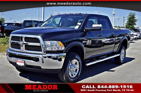 2018 RAM Ram Pickup 2500 for sale in Fort Worth, TX