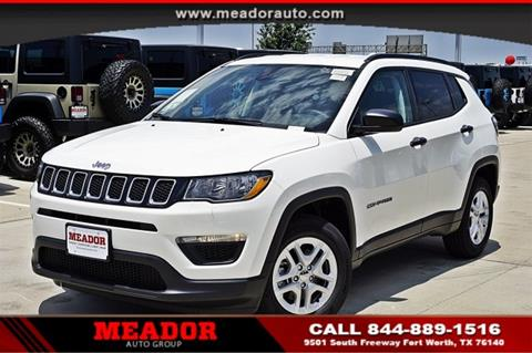 2017 Jeep Compass for sale in Fort Worth, TX
