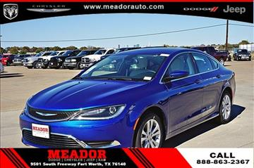 2017 Chrysler 200 for sale in Fort Worth, TX