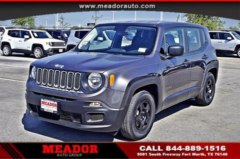 2017 Jeep Renegade for sale in Fort Worth, TX