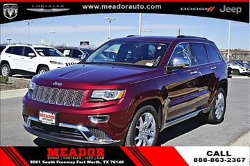 2016 Jeep Grand Cherokee for sale in Fort Worth, TX