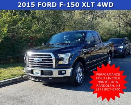 2015 Ford F-150 for sale in Randolph, NJ