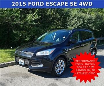 2015 Ford Escape for sale in Randolph, NJ