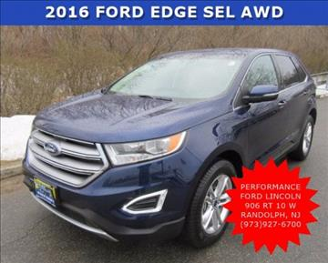 2016 Ford Edge for sale in Randolph, NJ