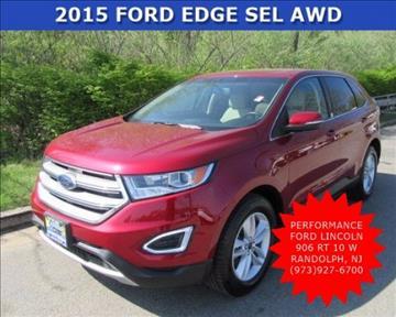2015 Ford Edge for sale in Randolph, NJ