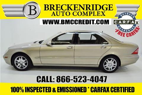 2003 Mercedes-Benz S-Class for sale in Overland, MO